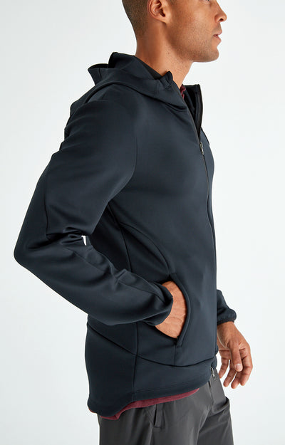 Odyssey - Ultra-Tech Travel Hoodie in Black