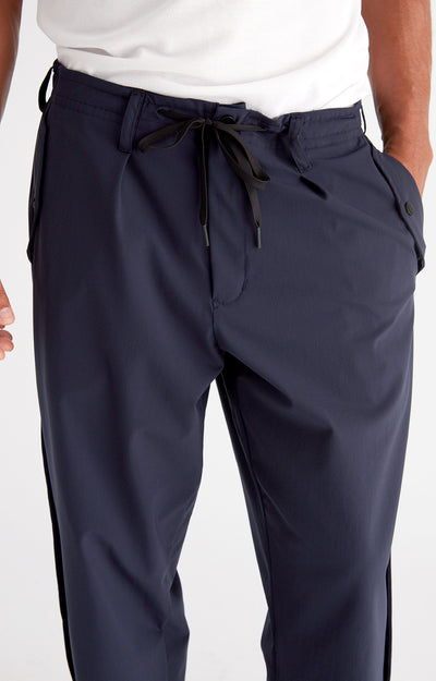 Wanderlust - Stretch-Tech Travel Trousers in Navy