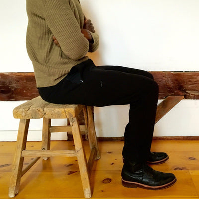 Untethered Soul - Cool Weather Tech Travel Pant in Black