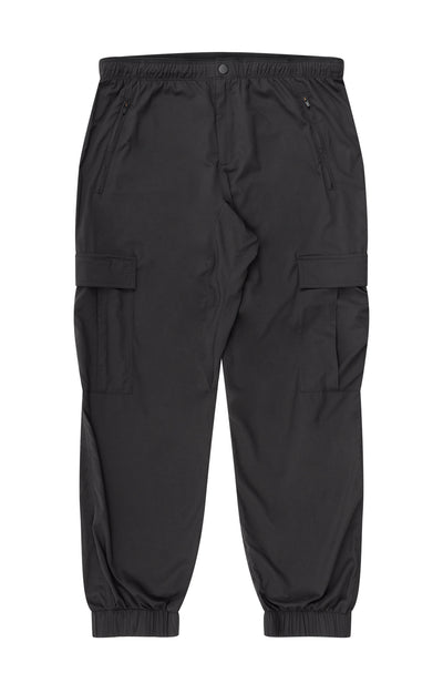 Wanderer - Ultra Comfort Explorer Utility Pants in Black