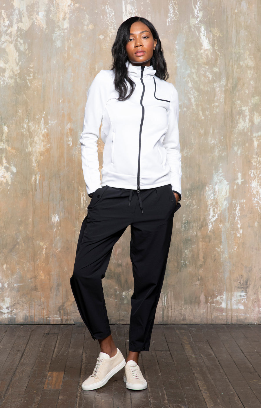 Women's Lucidity - Travel Hoodie in Bright White