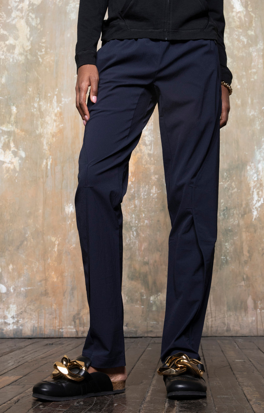 Purity - Meticulous Craftsmanship Pants in Navy