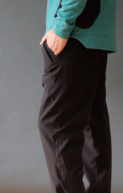 Pursuit - Global Traveler and Trekker's Pant in Black