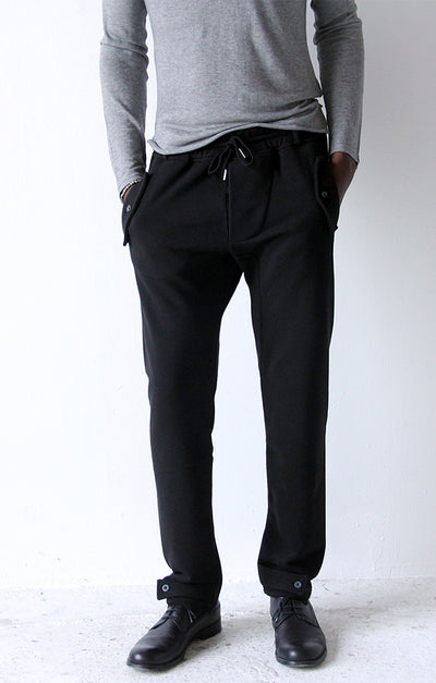 Effortless - Modern Tailored Knit Traveler's Pant