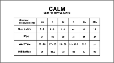 Calm - Traveler's Pants in Gray