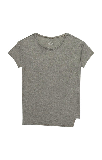 Cherished - Sensual Slouchy Tunic in Grey Heather