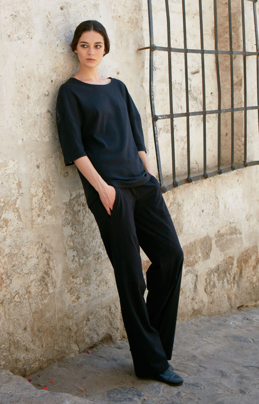 Imagine - Long Haul Flight Pant in Black