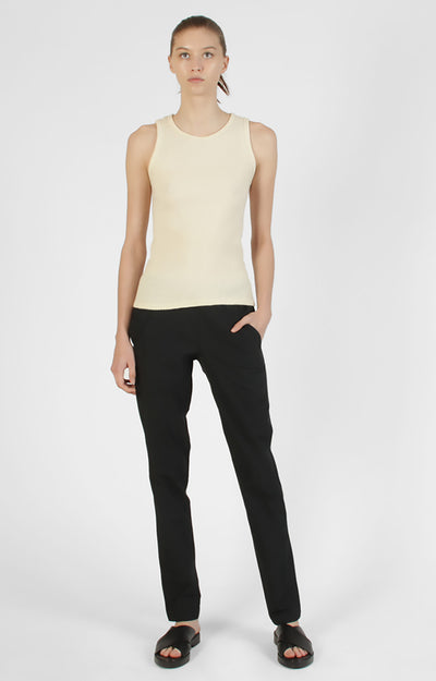Opulence - Slim-Fit Travel Pant in Black