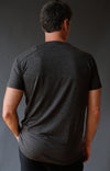 Euphoric – Incredibly Clever Merino Silk Travel T-Shirt Charcoal