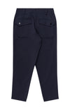 Sanctuary - Cropped Pleated Stretch-Tech Travel Pants in Navy