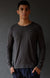 Enchant – Ultra Comfortable Long Sleeve Travel Tee Gray