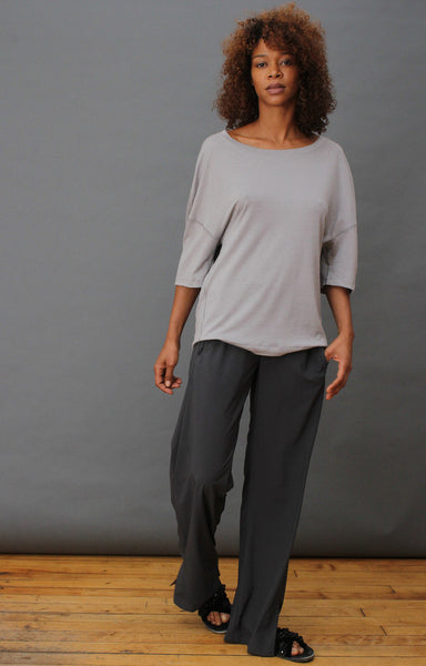 Escape – Insanely Comfy, Elegant Travel Pant Caviar