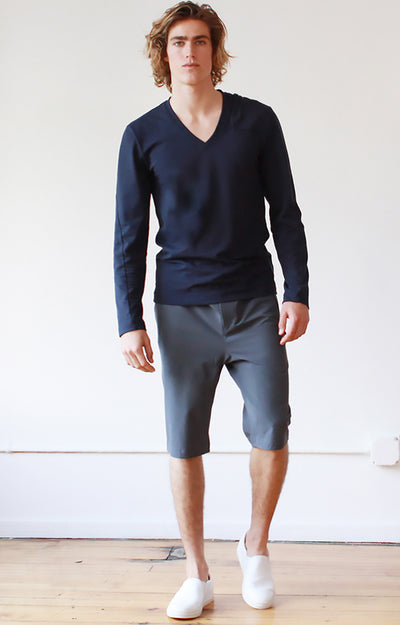 Prevail - Ultrasonic Welded, Cool & Understated Shorts Gray