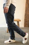 Aura – Ultra-comfortable Business City Trek Slim Fit Pant Navy Blue
