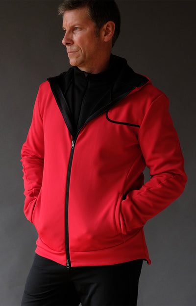 Imagination - Travel Hoody in Red