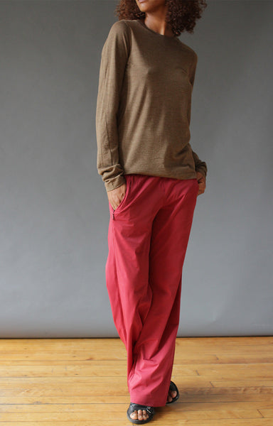 Imagine – Insanely Comfy Long Haul Flight Pant Red Maple