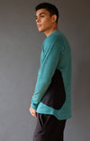 Impulse – Ultra Soft Merino Microknit 1/4-Zip Pullover Alpine Green