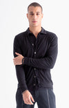 Intrinsic - Merino Travel Cardigan in Midnight