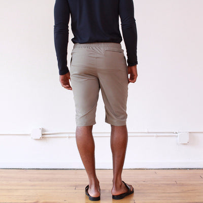 Persist - Zip Pocket Travel Short in Dune