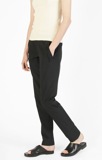 Opulence - Plane To Trek To City Slim-Fit Pant Black