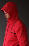 Imagination – Elegant and Artistic Tech Travel Hoody Red