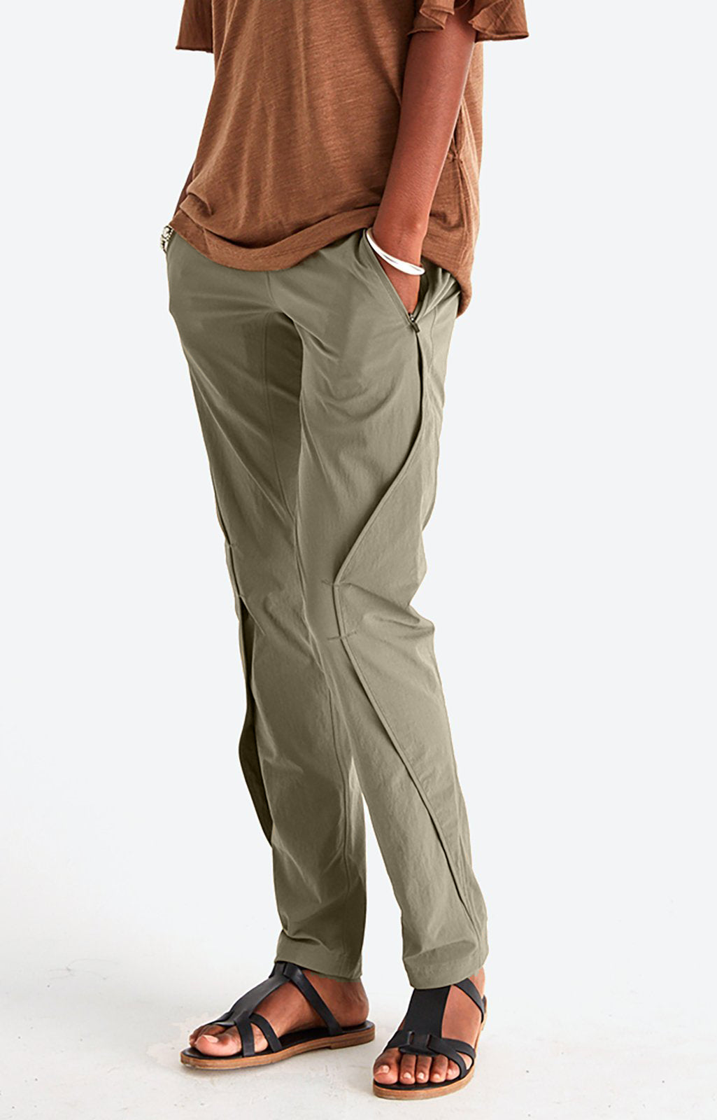 Purity - Meticulous Craftsmanship Pants in Khaki