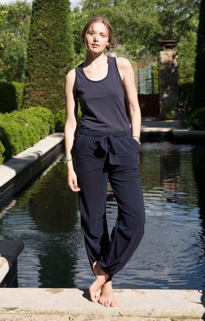 Serene - Ultra Comfortable Travel Pants in Navy