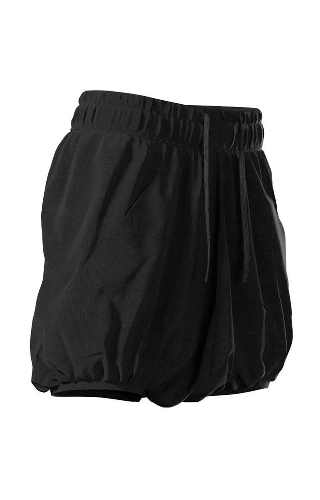 Mesmerize - Women's USA Made, Soft Draped Jersey Skort in Black