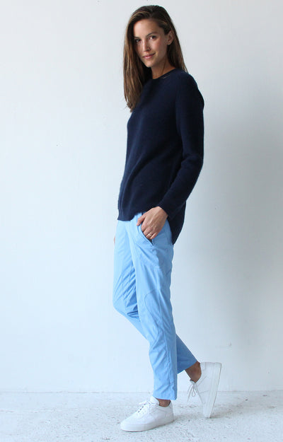 Wild - Utility Travel Pant in Sky Blue