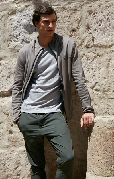 Minimalist - Metropolitan Travel Pants in Peat