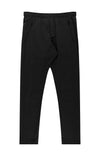 Harmonious - Relaxed Elegance and Comfort Pants in Midnight Black