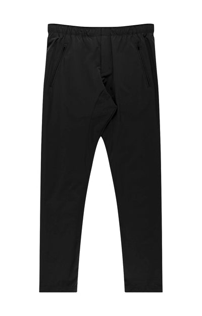 Harmonious - Relaxed Elegance and Comfort Travel Pants in Midnight Black