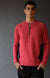 Impulse – Ultra Soft Merino Microknit 1/4-Zip Pullover Red