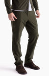 Urban -Tailored Travel Tech Pant in Dark Green