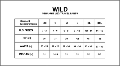 Wild - Utility Travel Pant in Graphite