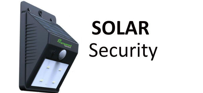 Fireblaze solar security light