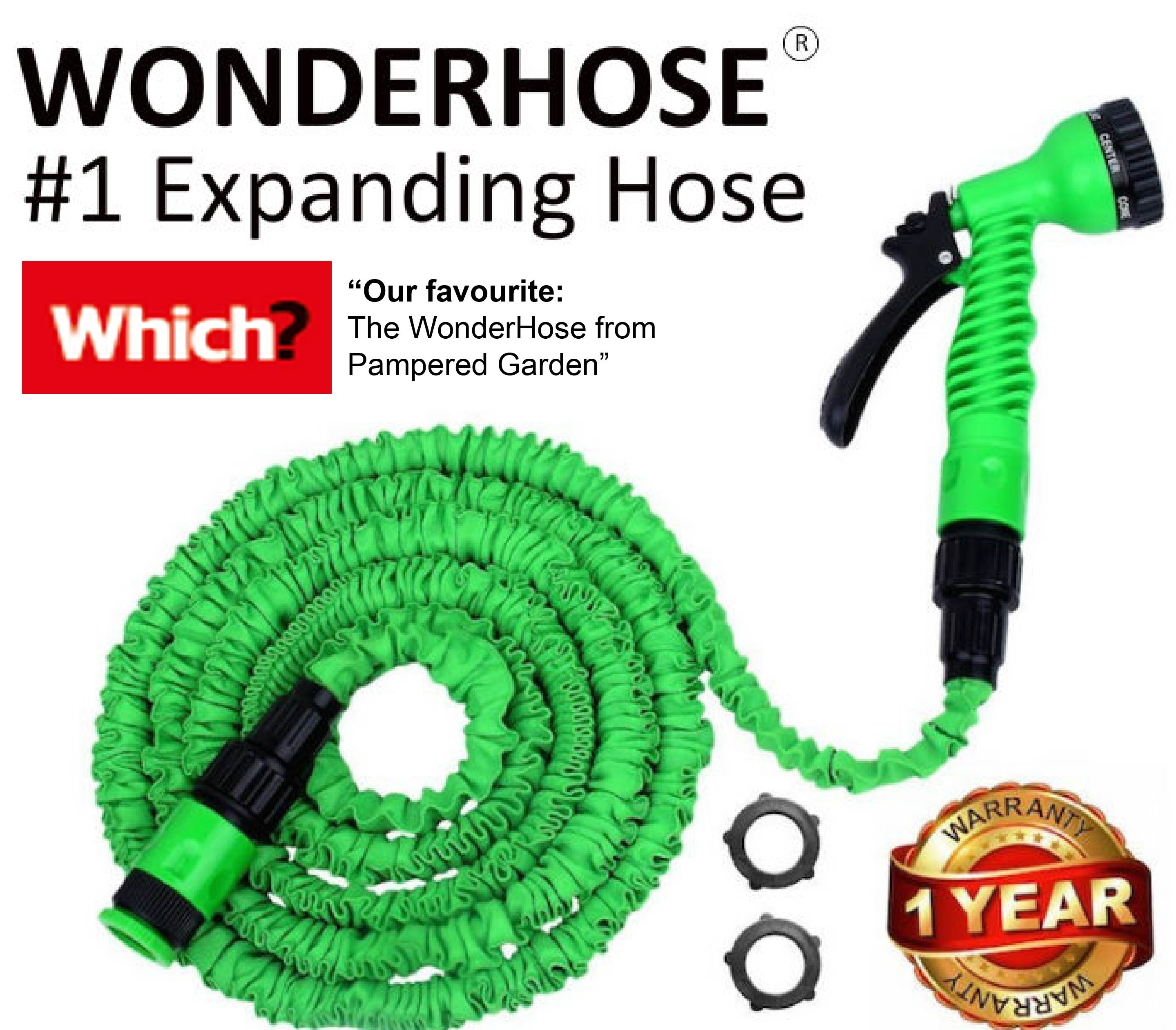 50ft WonderHose Pampered Gardens