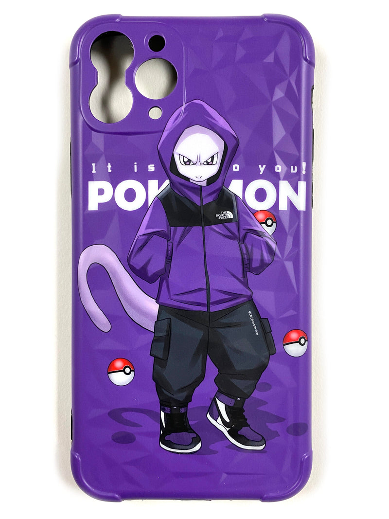 "CaseNerd ""Hyped Mewtwo"" iPhone Case"