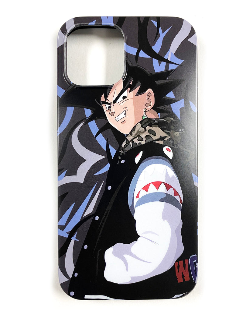 "CaseNerd ""Hyped Potara Goku Black"" iPhone Case"