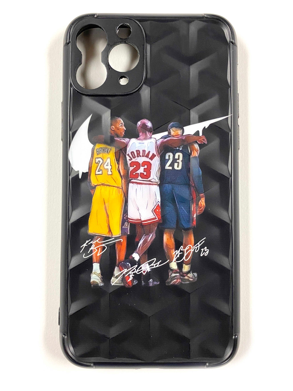 "CaseNerd ""The 3 GOATS"" iPhone Case"