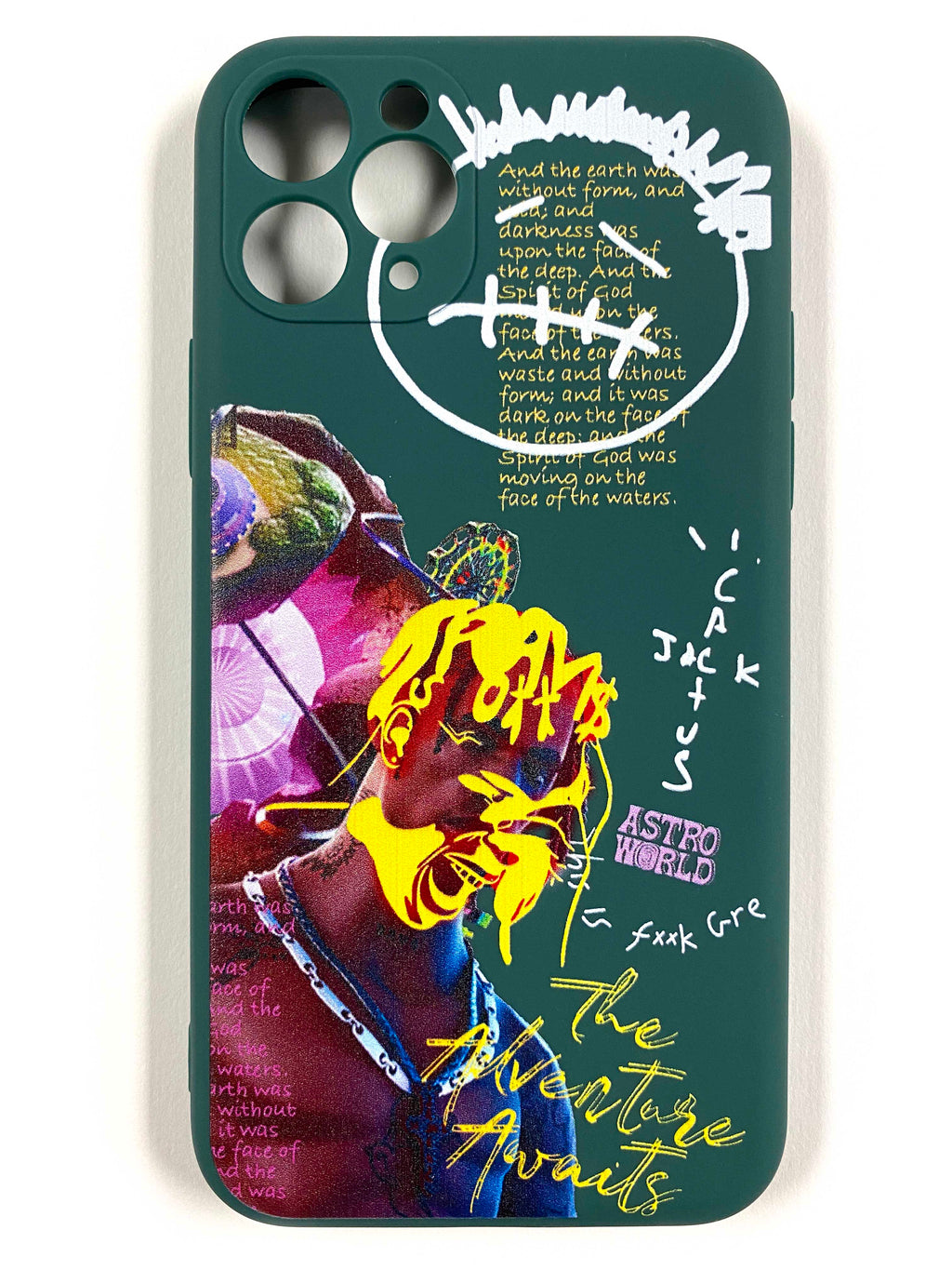 "CaseNerd ""Astro World Green"" iPhone Case"
