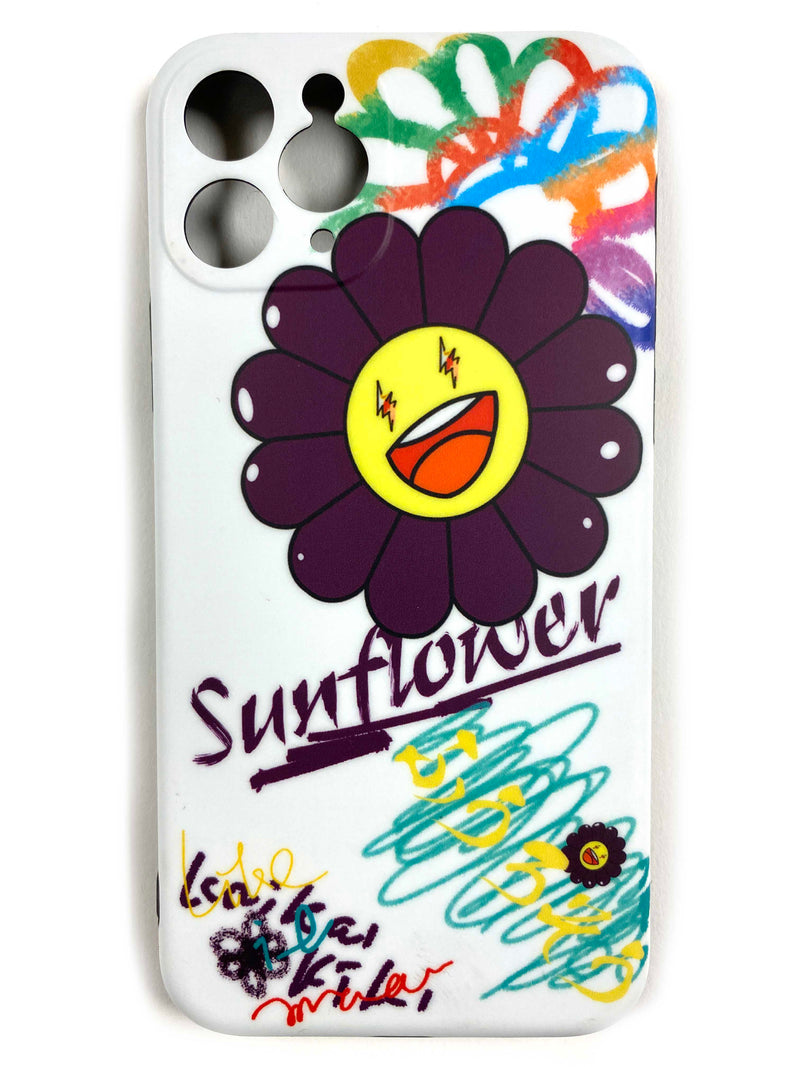 "CaseNerd ""Sunflower Purple"" iPhone Case"