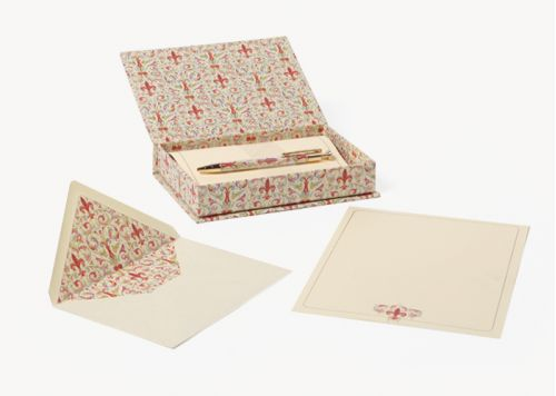 San Lorenzo Giglio Stationery Box with Pen