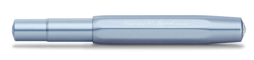 Kaweco AL Sport Ice Blue/Steel Blue Fountain