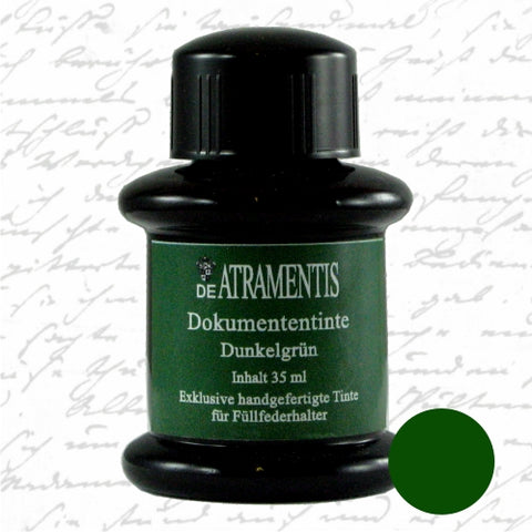 DeAtramentis Document Ink Dark Green