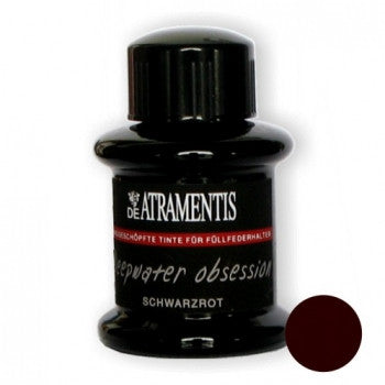 DeAtramentis Deepwater Obsession Black-Red