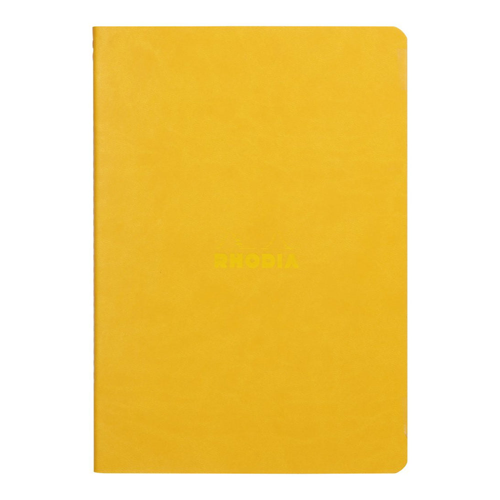 Rhodia Sewn Spine Rhodiarama A5 Notebook Yellow
