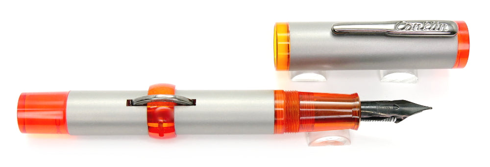 Conklin 120th Anniversary Fountain Orange LE