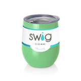 Swig 12 oz Stemless Wine Glass - Mint