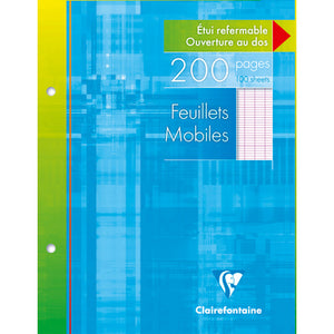 Clairefontaine A5 French Ruled Loose Leaf